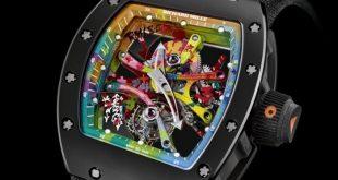 , Street Art RM 68-01 Kongo Tourbillon Mechanical Watch Unveiled, #Bizwhiznetwork.com Innovation ΛI