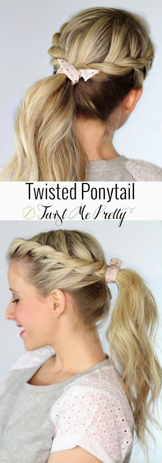 Surprising Spring 2017S Ponytail Is A Funky Twist On This Classic Hairstyle Schematic Wiring Diagrams Phreekkolirunnerswayorg