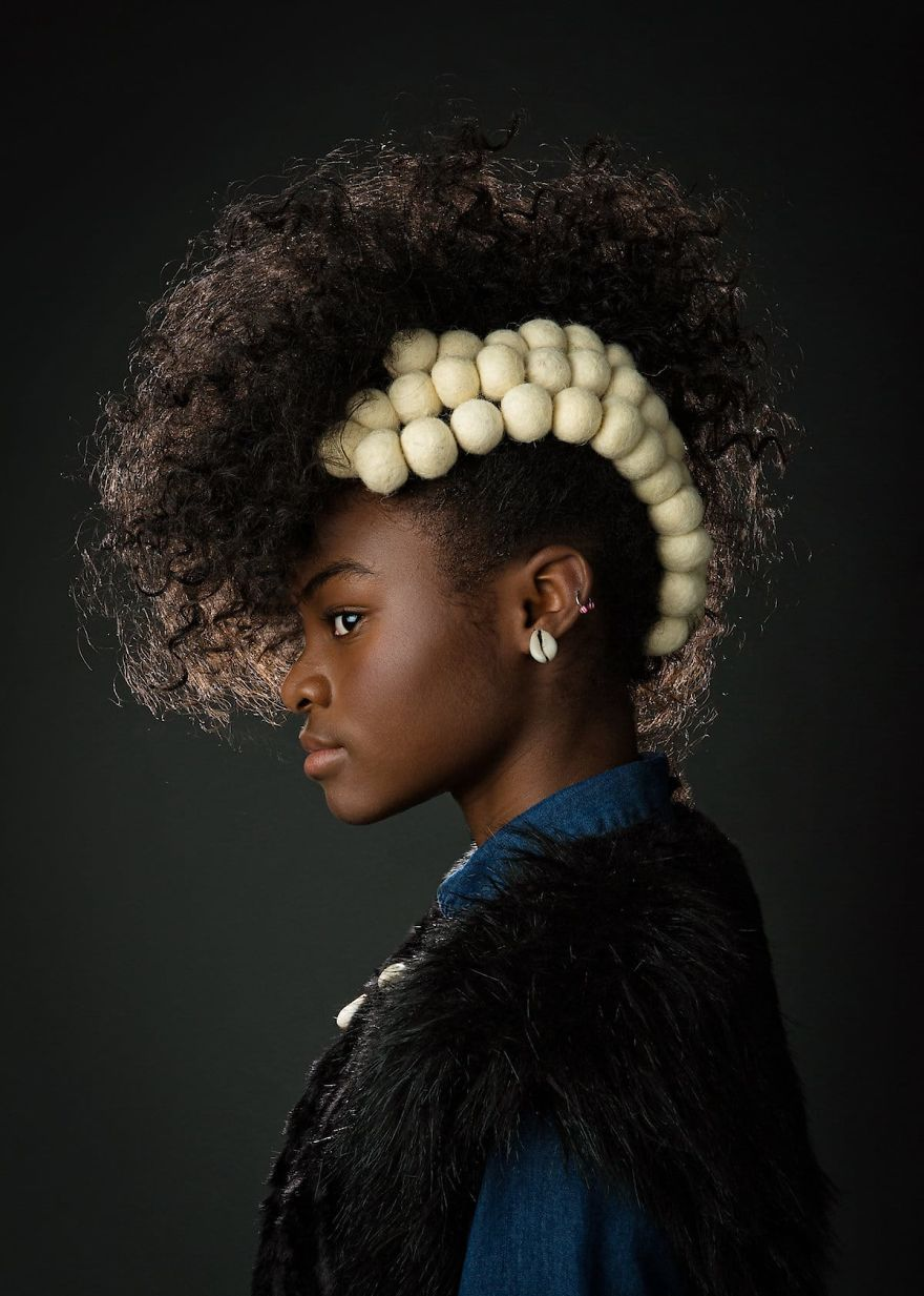 , Baroque-Inspired Pictures Of Black Ladies Highlight Their Incredible Natural Hair So Other Girls Would Stop Concealing It, #Bizwhiznetwork.com Innovation ΛI