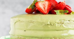 Healthy Matcha Cake
