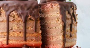 healthy-7-layer-chocolate-covered-strawberry-cake