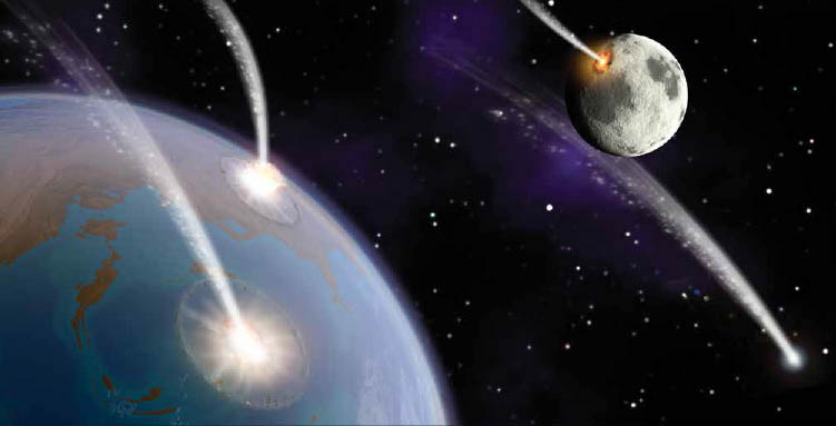 , Earth's Early Bombardment, #Bizwhiznetwork.com Innovation ΛI
