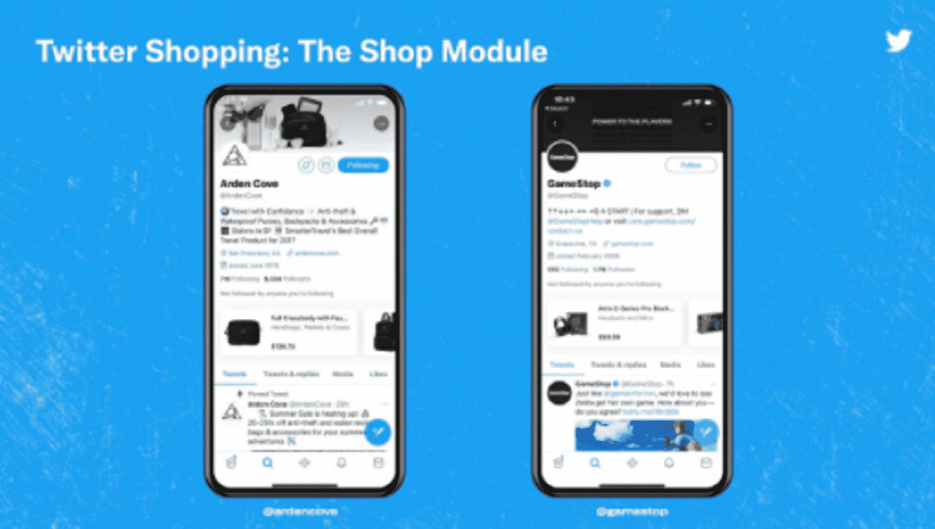 , Twitter's New Shop Module, #Bizwhiznetwork.com Innovation ΛI